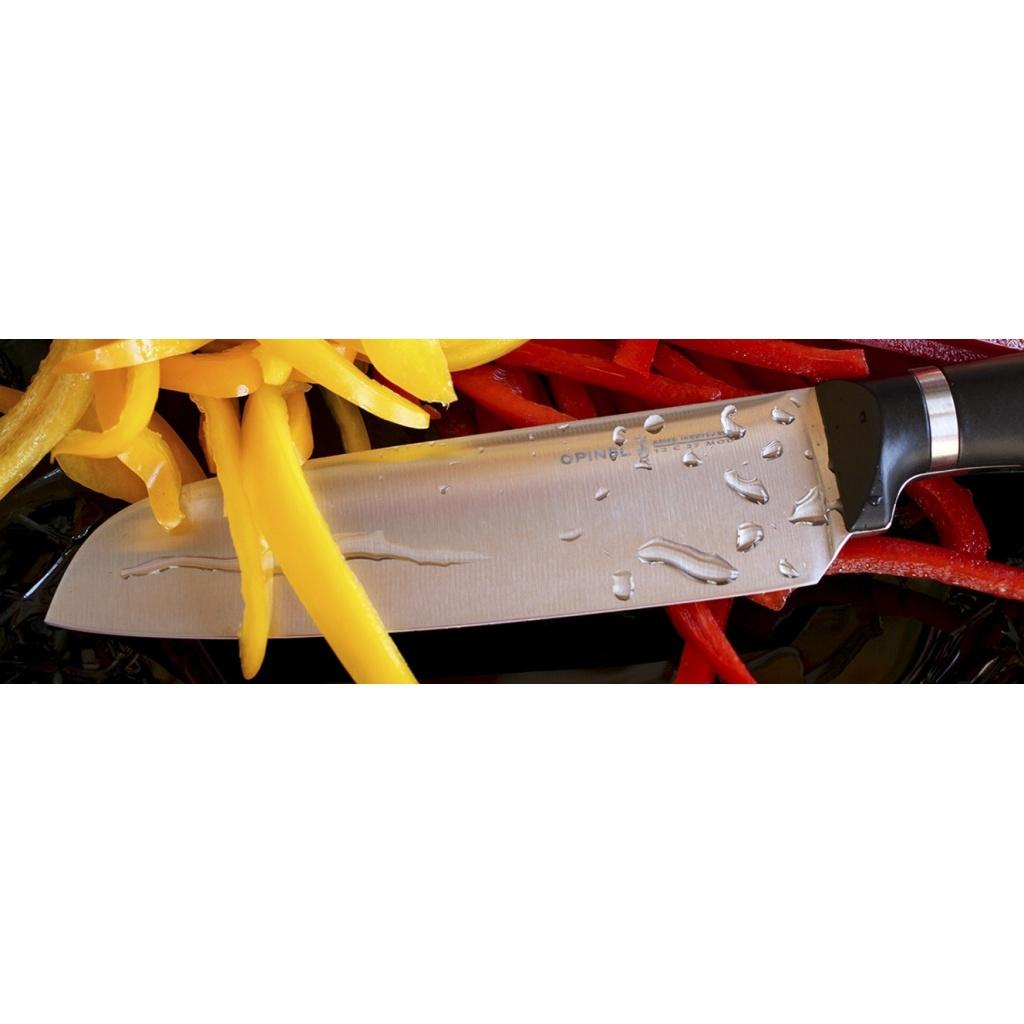 Нож кухонный Opinel №219 VRI Intempora Santoku универсальный