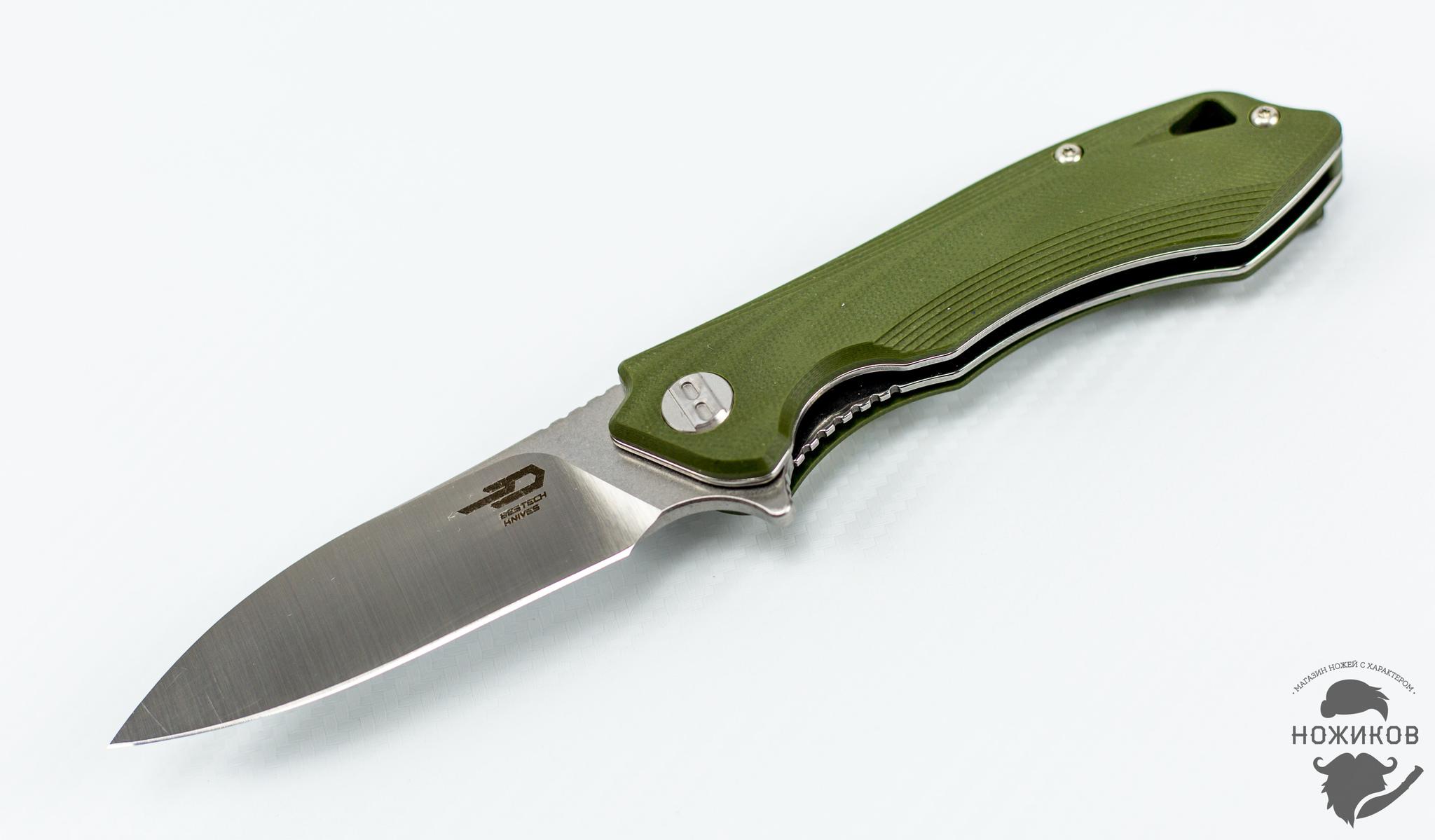 Складной нож Bestech Beluga BG11B-2, сталь Sandvik 12C27Раскладные ножи<br><br>