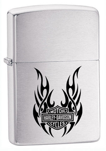 Зажигалка Harley Tribal WingsЗажигалки Zippo<br>Зажигалка Harley Davidson<br>
