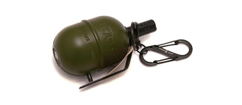 Зажигалка-брелок газовая Граната РГД-5 газовая зажигалка jobon