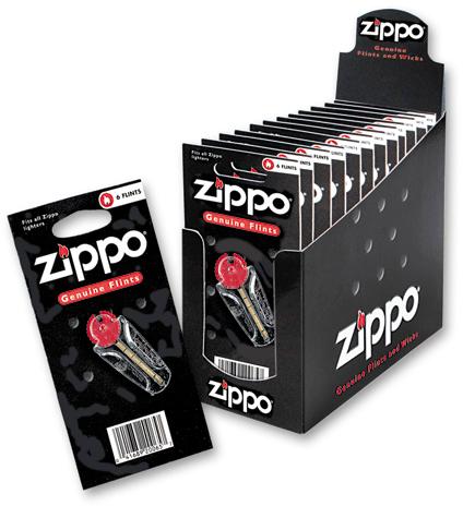Кремни Zippo в блистере