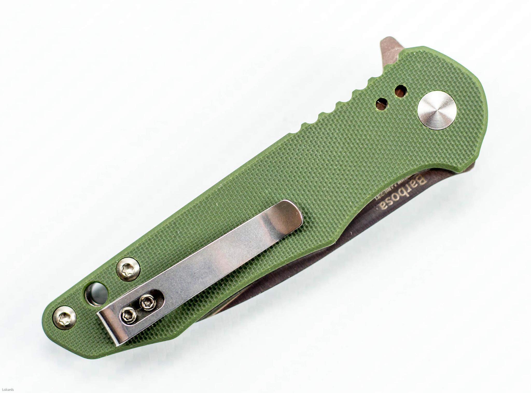 Фото 8 - Складной нож Kizer Cutlery Vanguard Mikkel Willumsen Barbosa-2