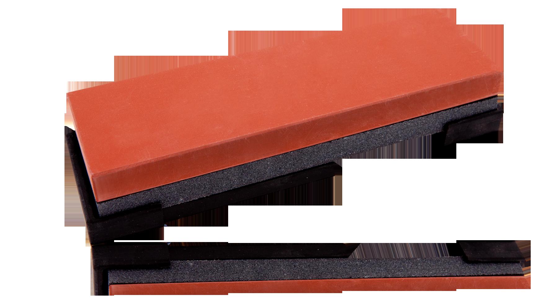 Камень точильный рабочий 210*65*33мм комбинированный грубый/средний #0120/1000