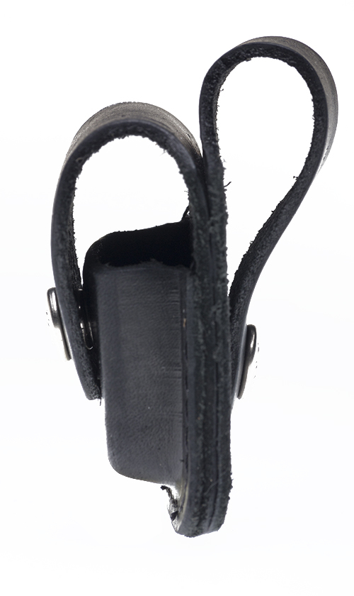 Чехол ZIPPO для широкой зажигалки, с клипом, натуральная кожа, чёрный