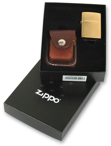 Подарочная коробка Zippo (чехол LPCB + место для зажигалки), 118х43х145 мм зажигалки colibri qtr497012