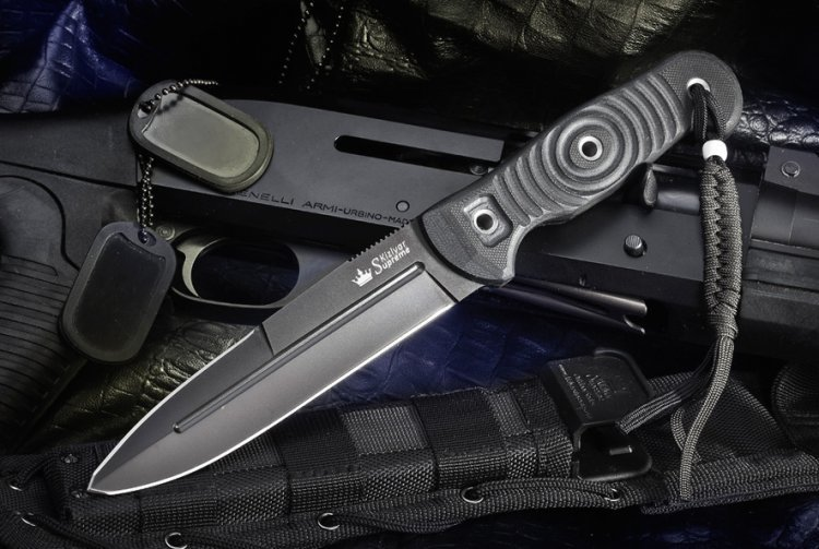 Нож Legion D2, Black Titanium нож складной rat™ 1 limited edition black blade carbon fiber handle d2 tool steel