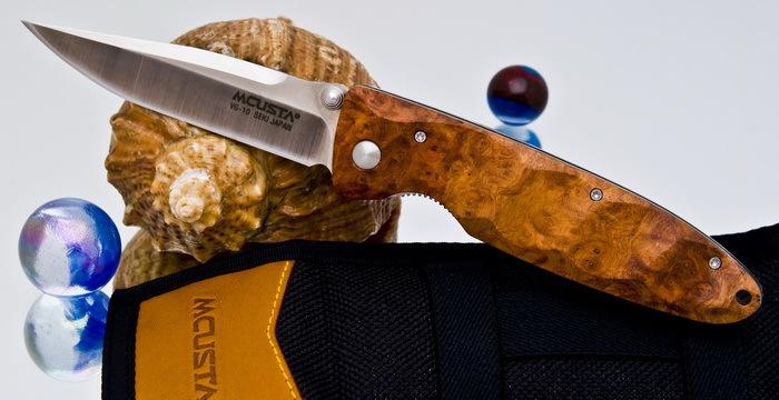 Купить Складной нож Mcusta MC-0026 , VG-10,кап айвы в России