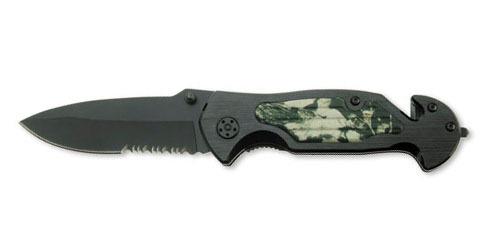 Нож складной Stinger, 90 мм (черный), рукоять: сталь/алюминий (камуфляж + черный), коробка картон23 февраля<br>Нож складной Stinger, 90 мм (черный), рукоять: сталь/алюминий (камуфляж + черный), коробка картон<br>