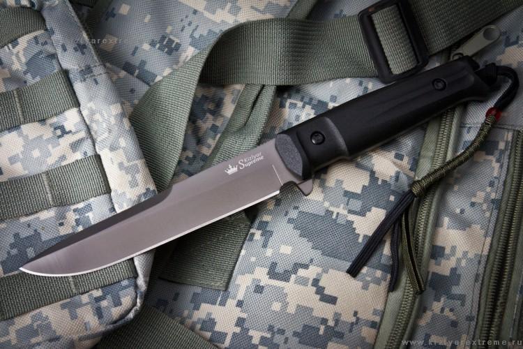 Тактический нож Alpha D2 GT серый титан, КизлярНожи Кизляр<br>Тактический нож Alpha D2 GT, Кизляр<br>