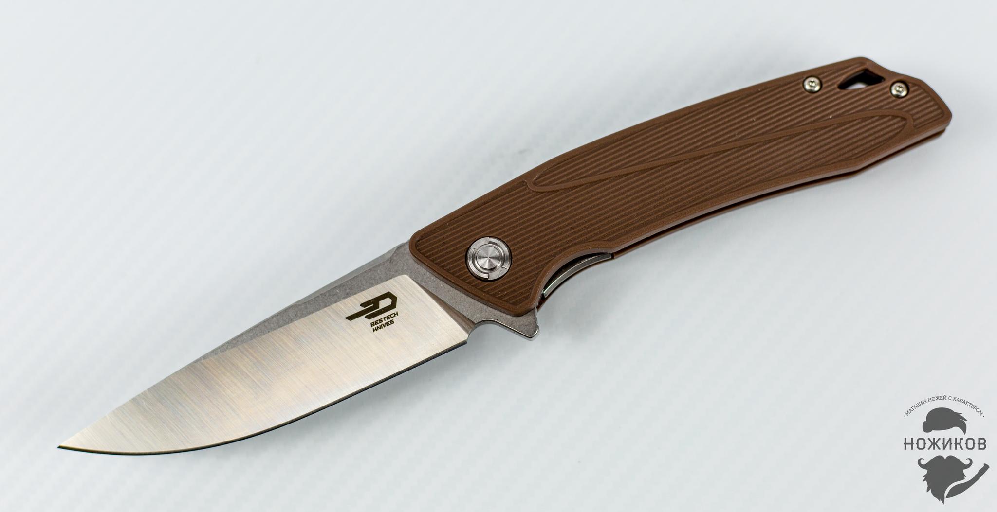 Складной нож Bestech Spike BG09C-2, сталь Sandvik 12C27 от Bestech Knives