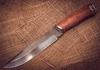 Булатный нож Скорпион - Nozhikov.ru