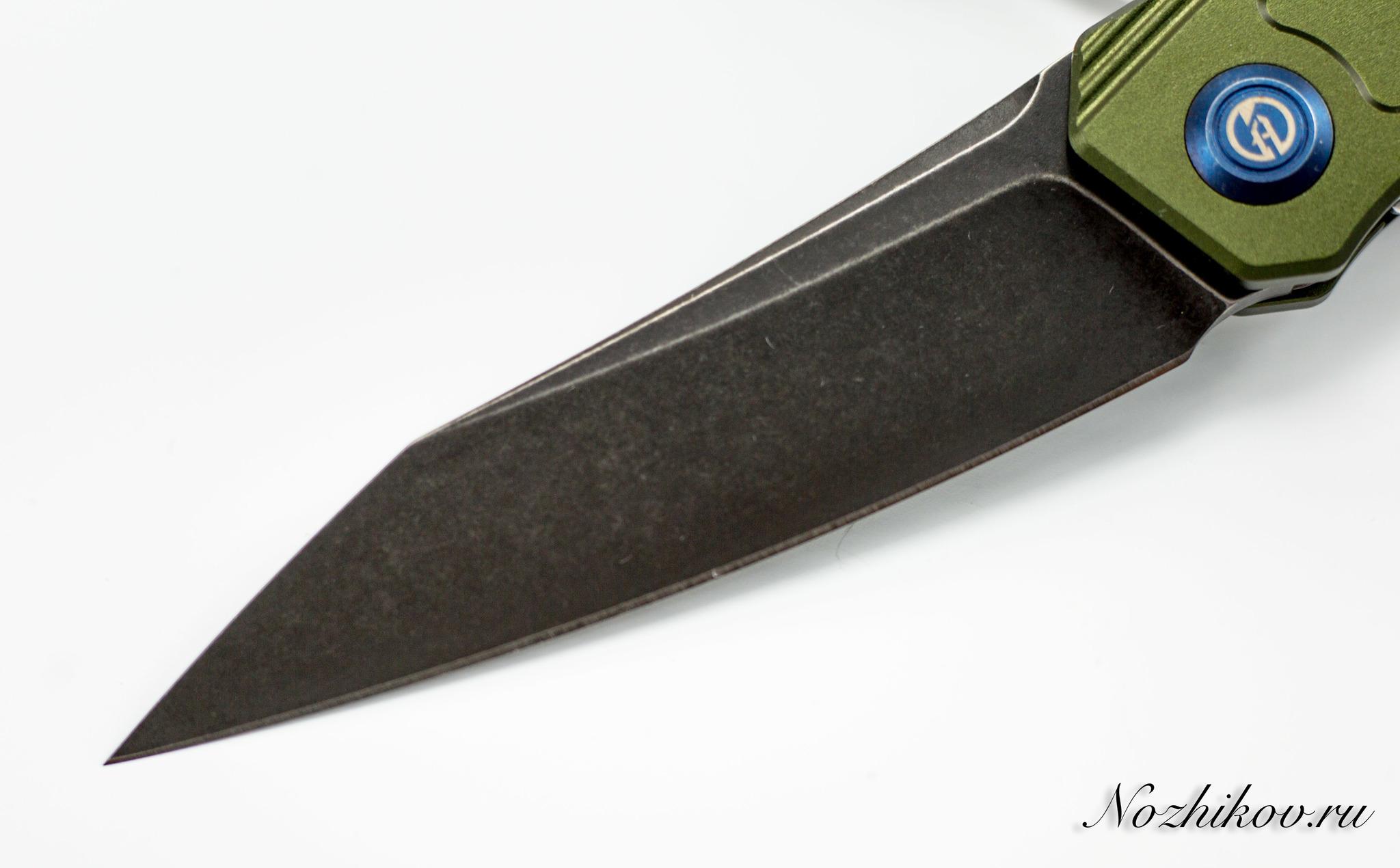 Складной нож Maxace Ptilopsis Green, сталь M390