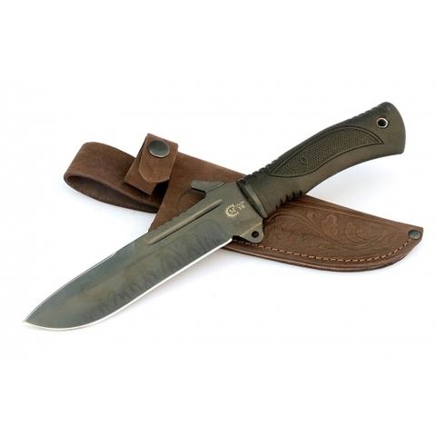 Нож для выживания из стали У8 «Тайфун» с антибликовым покрытием - Nozhikov.ru