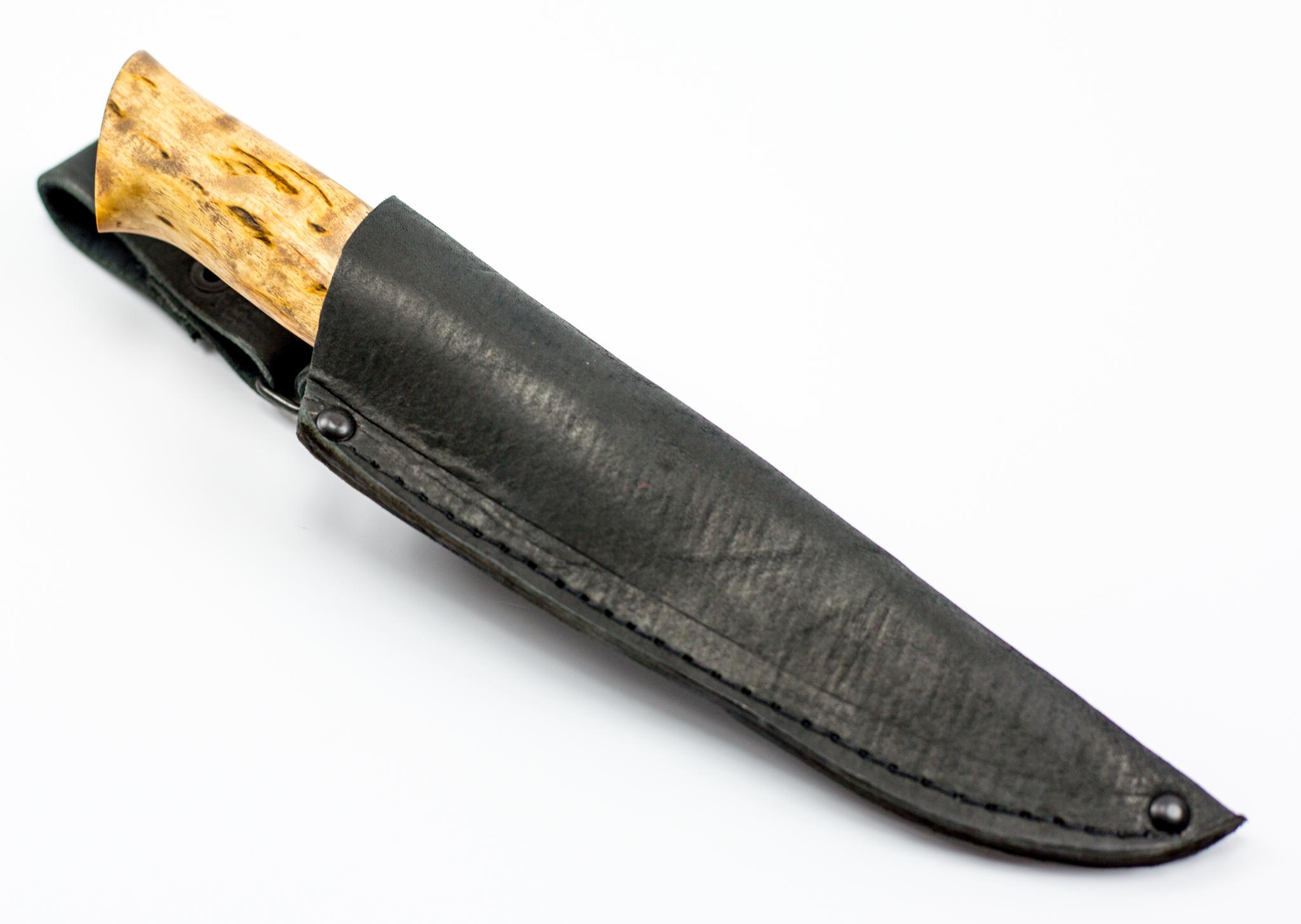 Нож туристический Леголас, сталь M390, карельская береза