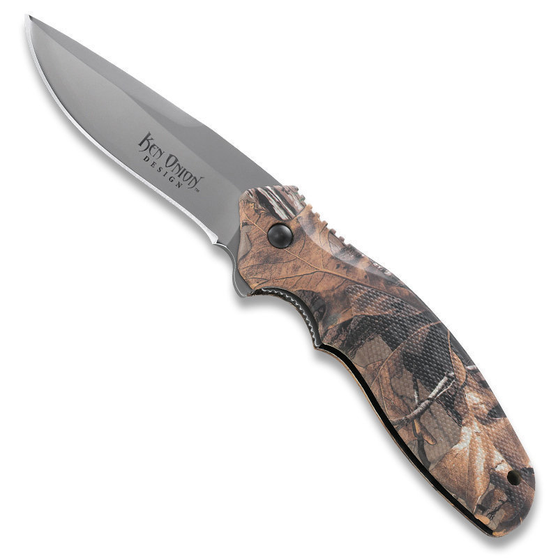 Складной нож Shenanigan™ Camo Realtree™ Xtra Camouflage camo print hoodie sweatshirt