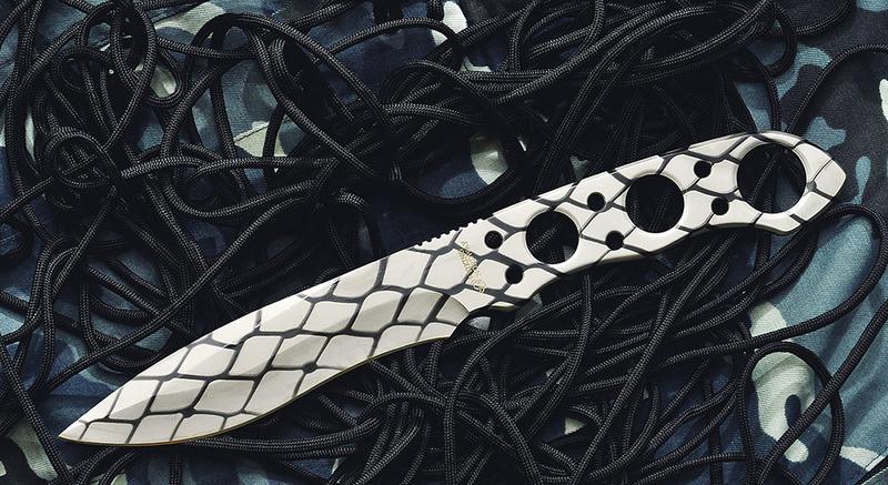 Метательный нож S017