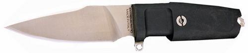 Нож с фиксированным клинком Shrapnel OG, Special Edition, Satin Finish BladeОхотнику<br>Нож с фиксированным клинком Shrapnel OG, Special Edition, Satin Finish Blade, клинок малый, классический, сатин, рукоять черная резиновая, без верхней гарды, чехол черный пластик,подарочная деревяная черная коробка.<br>