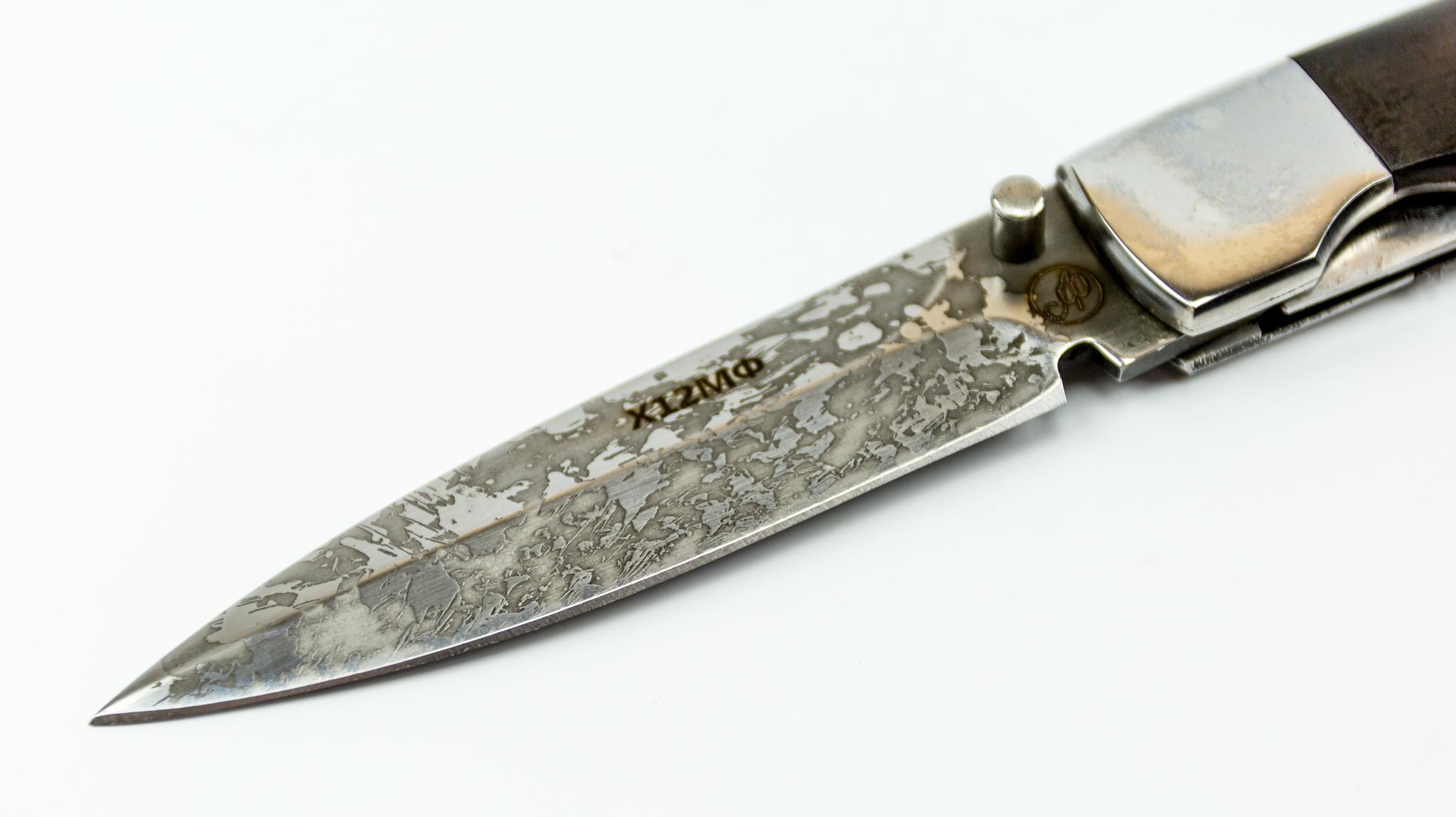 Фото 7 - Складной нож Щука, Х12МФ