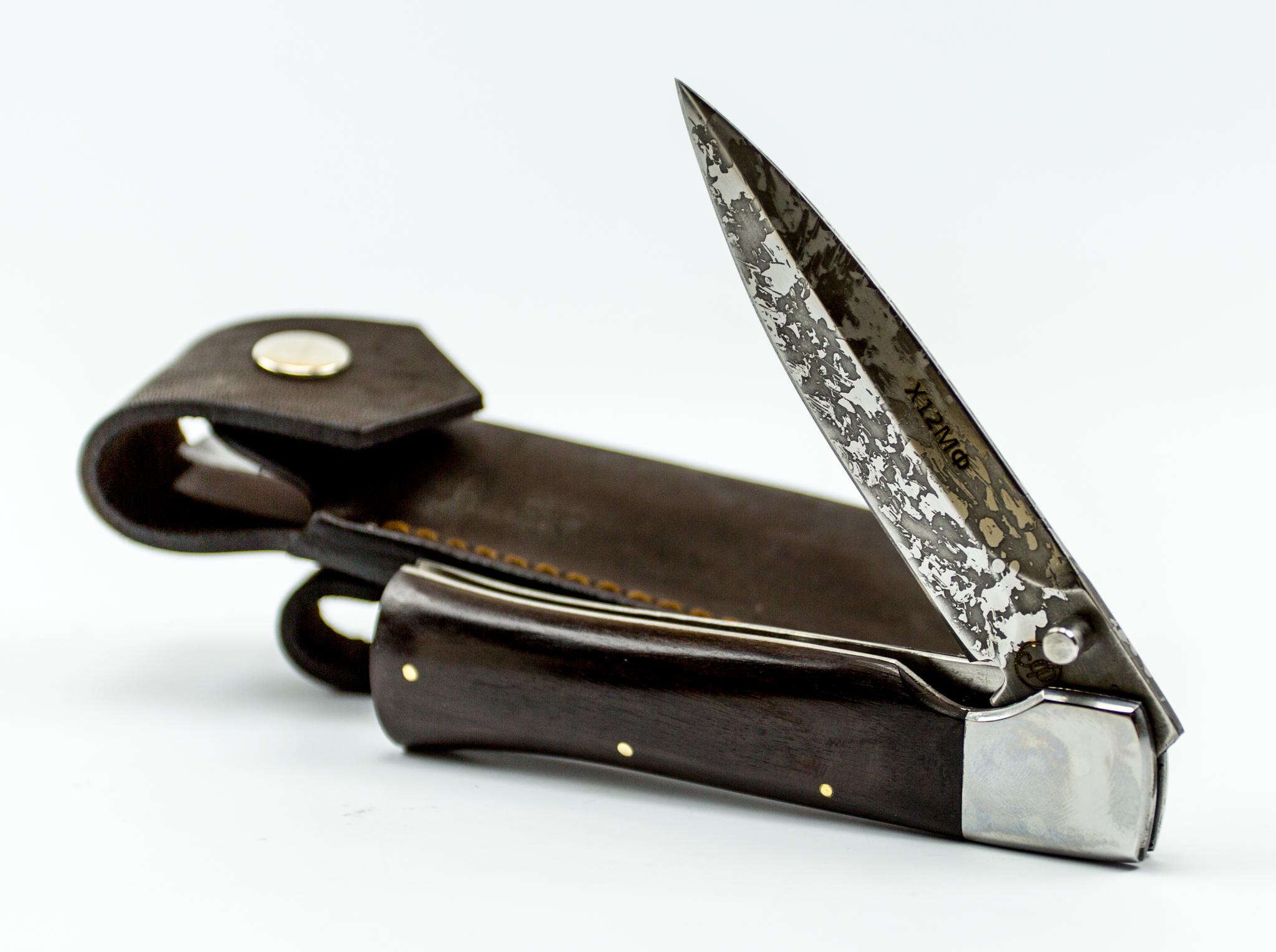Фото 8 - Складной нож Щука, Х12МФ
