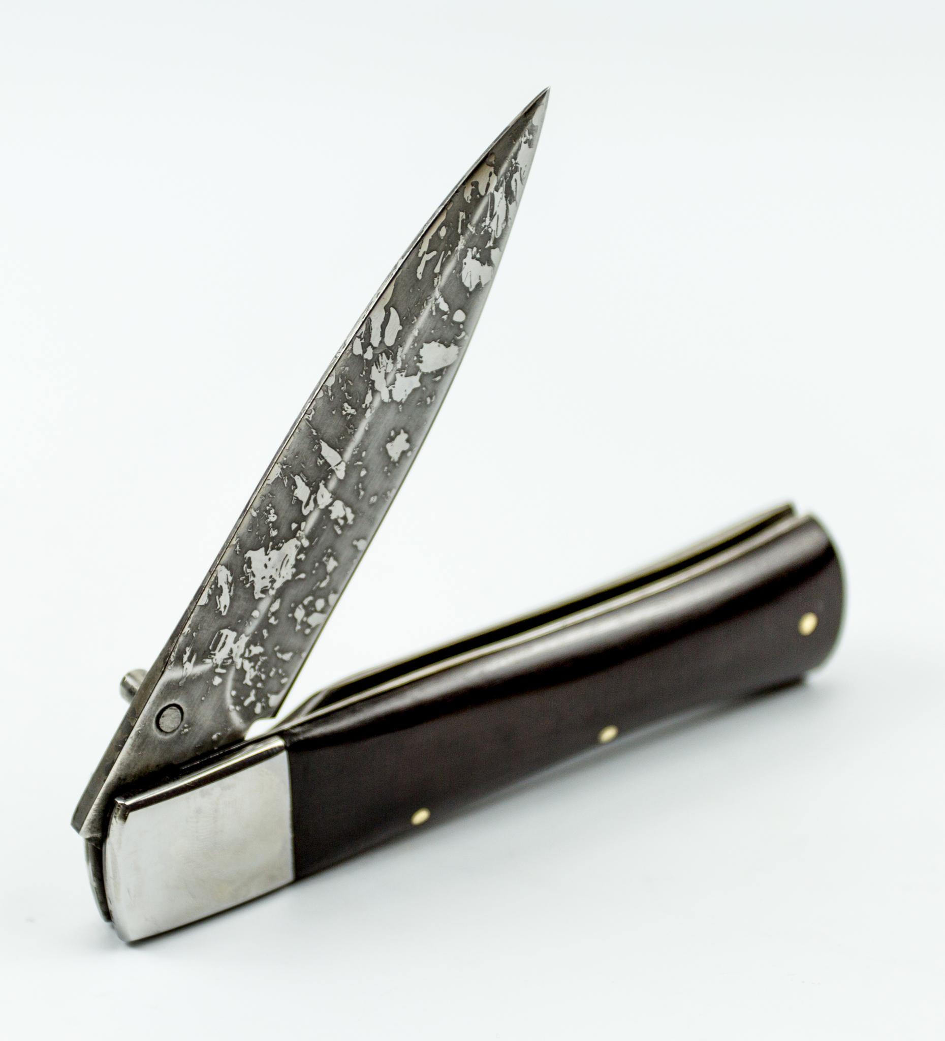 Фото 9 - Складной нож Щука, Х12МФ