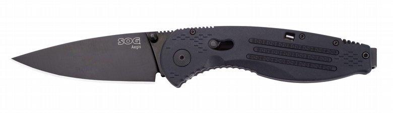 Складной нож Aegis Black TiniРаскладные ножи<br>Складной нож Aegis<br>