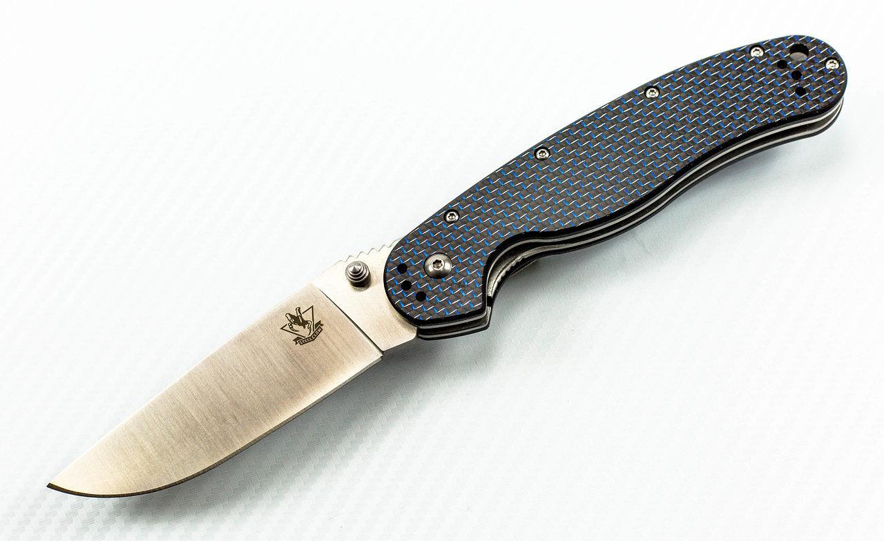 Фото 8 - Складной нож Rat-1, карбон от Steelclaw