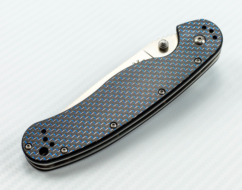 Фото 9 - Складной нож Rat-1, карбон от Steelclaw