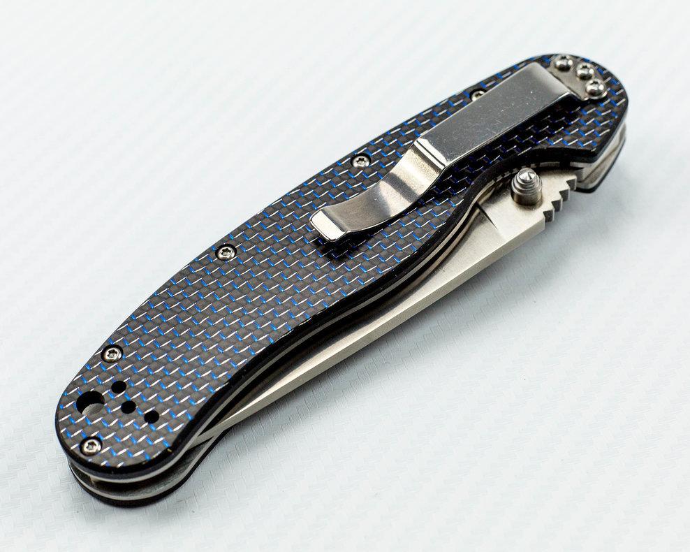 Складной нож Rat-1, карбон