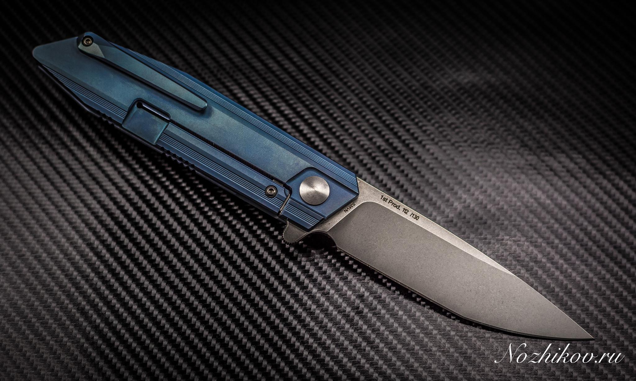 Фото 6 - Складной нож Bestech Knives BT1701B, сталь CPM-S35VN, рукоять титан
