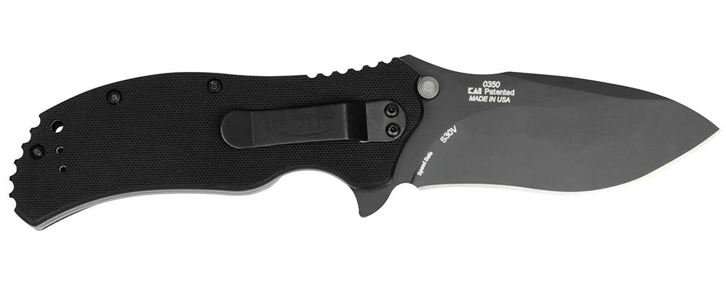 Фото 3 - Нож полуавтоматический Zero Tolerance 0350, сталь CPM S30V, рукоять G10