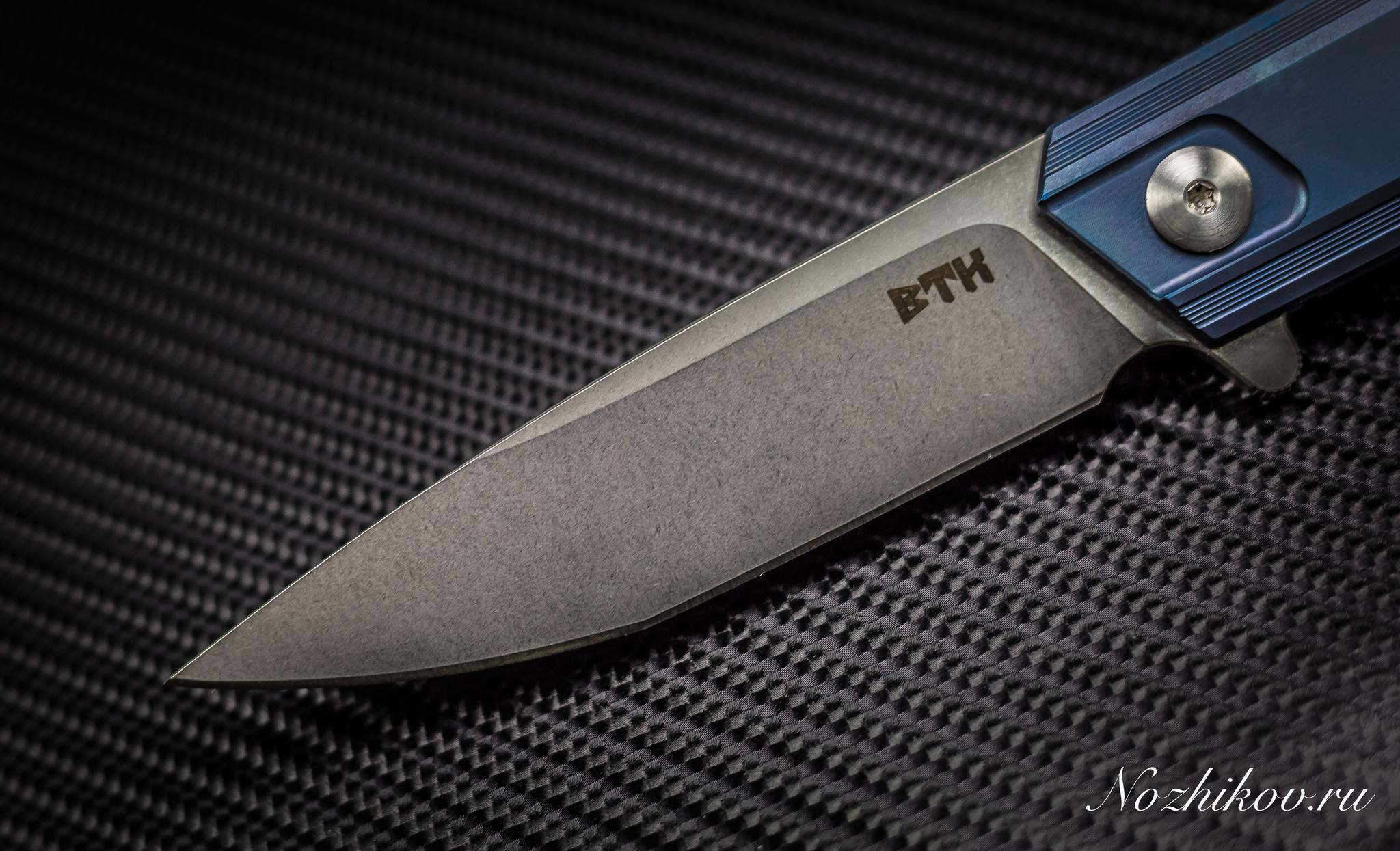Фото 5 - Складной нож Bestech Knives BT1701B, сталь CPM-S35VN, рукоять титан