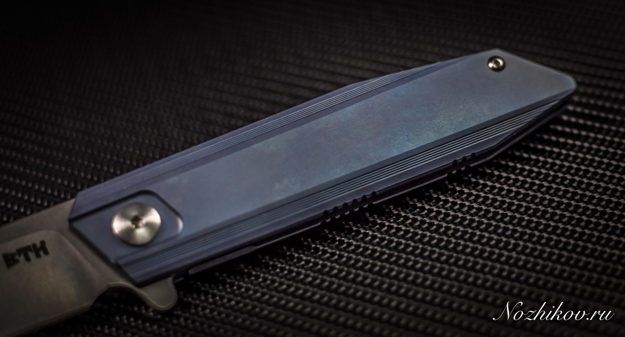 Складной нож Bestech Knives BT1701B, сталь CPM-S35VN, рукоять титан