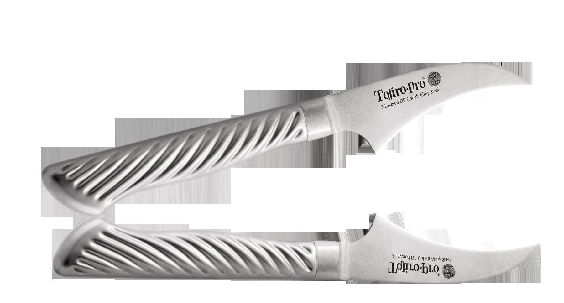Нож для чистки овощей Tojiro PRO 70 мм, сталь VG-10Tojiro<br>Нож для чистки овощей Tojiro PRO 70 мм, сталь VG-10<br>