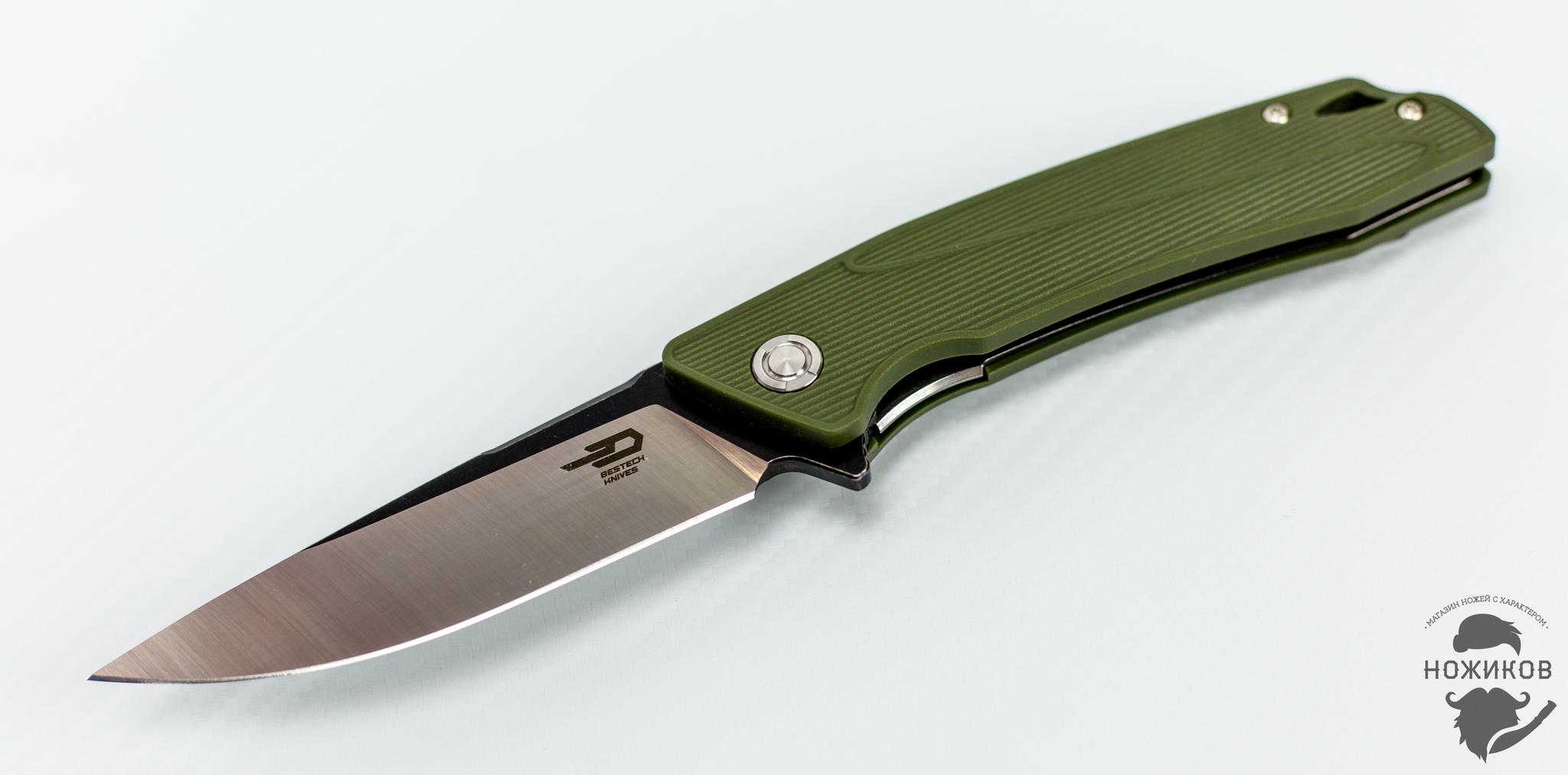 Складной нож Bestech Spike BG09B-1, сталь Sandvik 12C27Bestech Knives<br><br>
