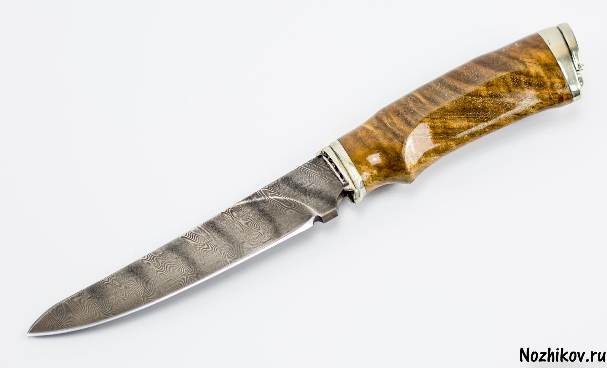 Авторский Нож из Дамаска №5, КизлярНожи Кизляр<br><br>