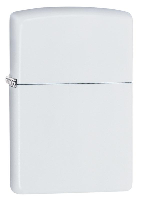 Зажигалка Zippo Classic с покрытием White Matte зажигалка zippo classic с покрытием brushed brass