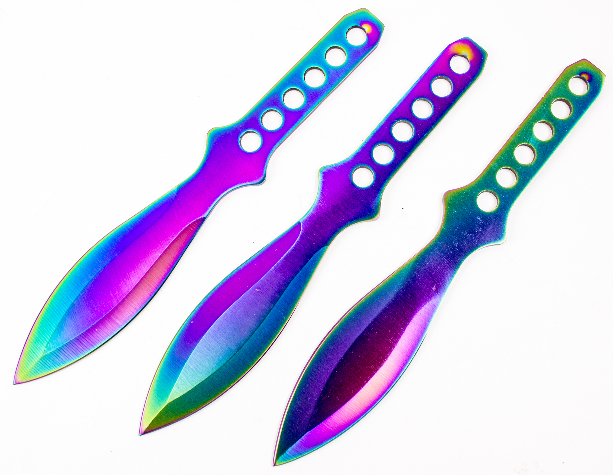 Набор из 3-х метательных ножей Бензин