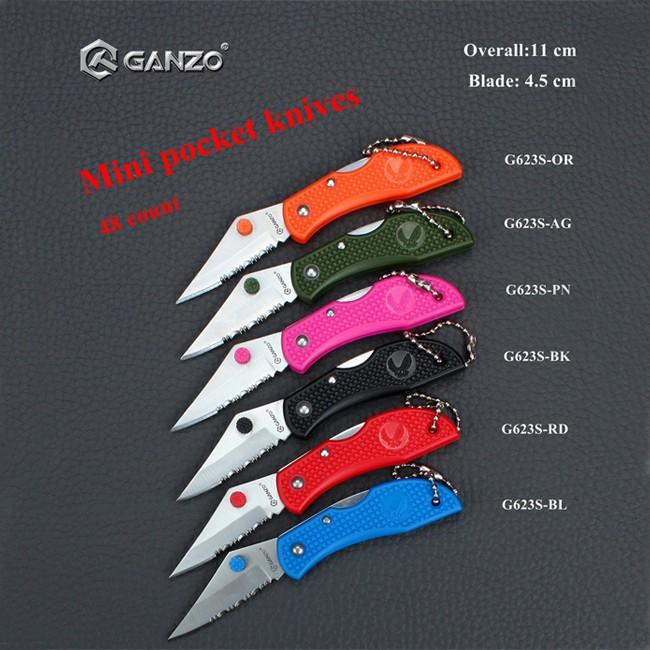 Нож Ganzo G623S-OR оранжевый