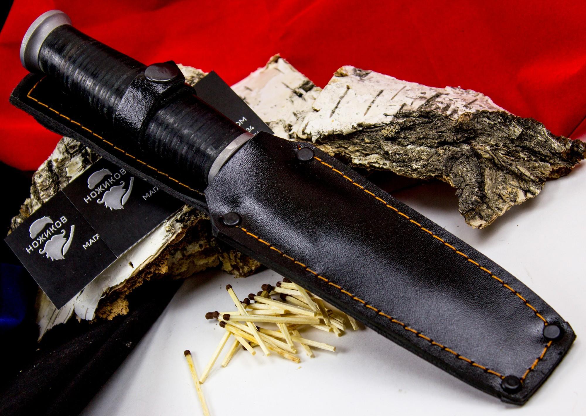 Фото 4 - Нож Ермак , сталь 65Х13 от Кузница Семина