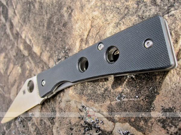 Фото 4 - Нож складной Spyderco Chokwe C132GP, сталь CPM S30V, рукоять G10/титан