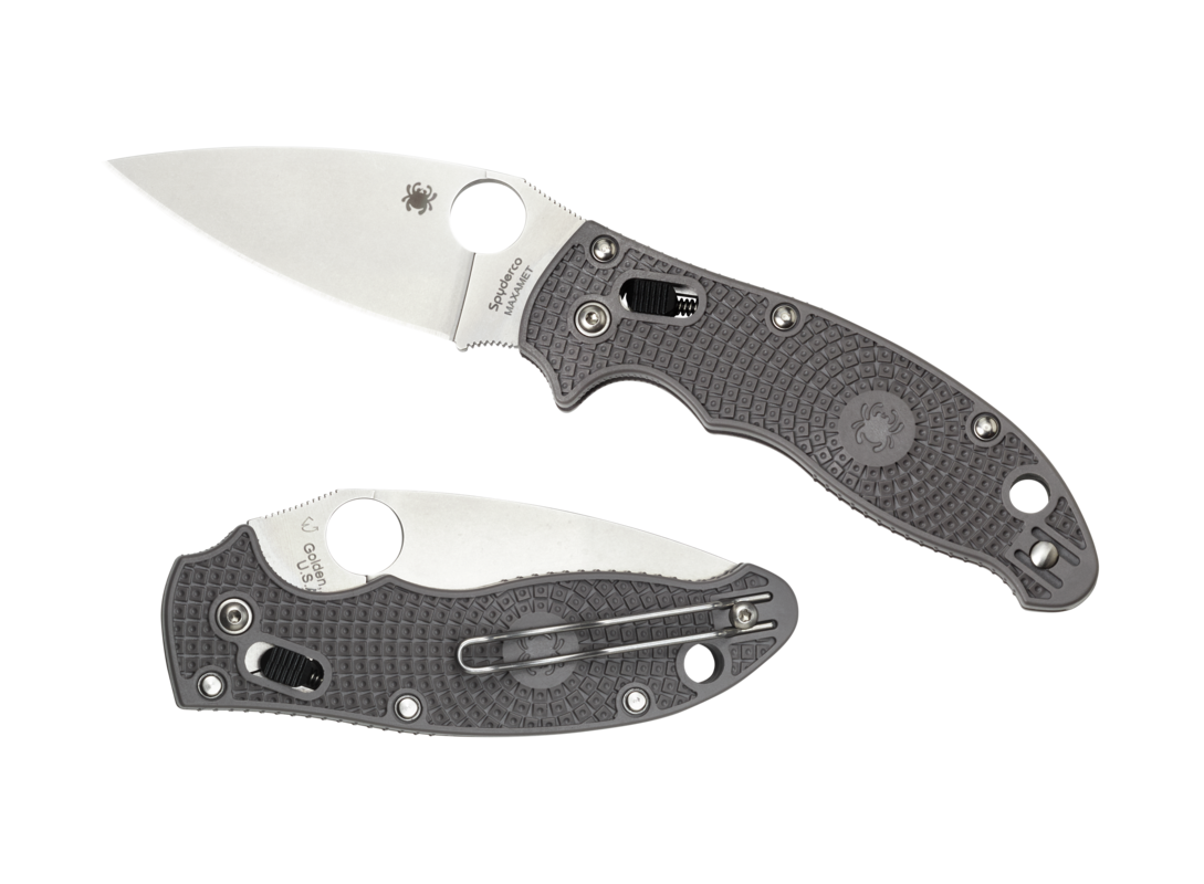 Складной нож Spyderco Manix 2 Grey складной нож ripple grey coating stainless steel handle ikbs® flipper