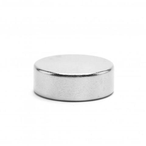 Неодимовый магнит диск 20х5 мм - Nozhikov.ru