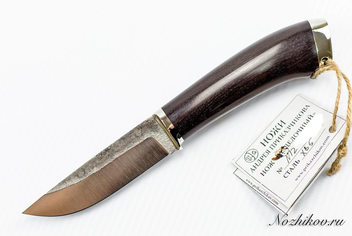 Нож Разделочный №12 из кованой стали ХВ5 нож охотничий 46 из кованой стали х12мф