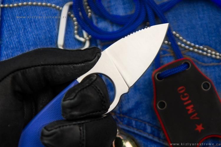 Фото 4 - Шейный нож Amigo Z Aus-8 S, Кизляр от Kizlyar Supreme