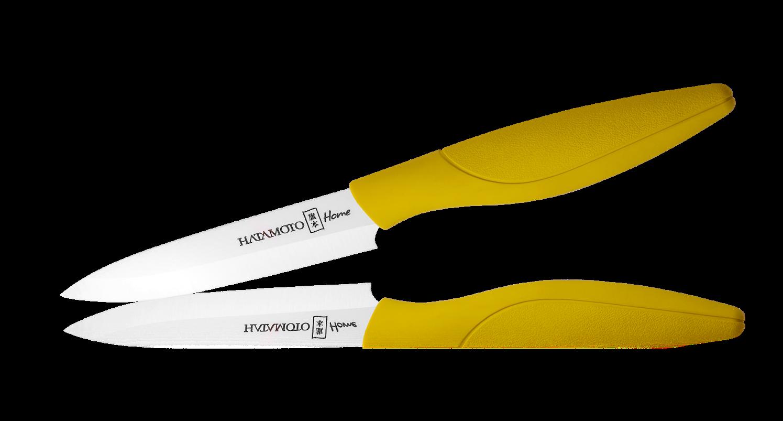 Керамический нож Hatamoto Home, 110мм, желтыйКерамические ножи<br>Керамический нож Hatamoto Home, 110мм, желтый<br>