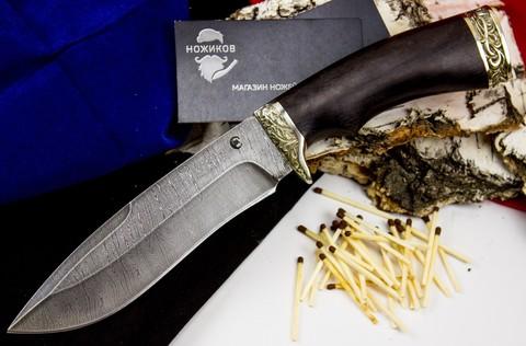 Нож Скиф , дамасская сталь - Nozhikov.ru
