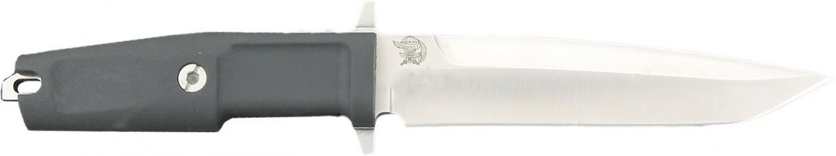 Нож с фиксированным клинком Col. Moschin Plain Edge, SatinТактические ножи<br>Нож с фиксированным клинком Col. Moschin Plain Edge, Satin,клинок классический, сатин, рукоять черная, прорезиненый, пластиковый чехол.<br>