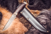 Нож из булатной стали
