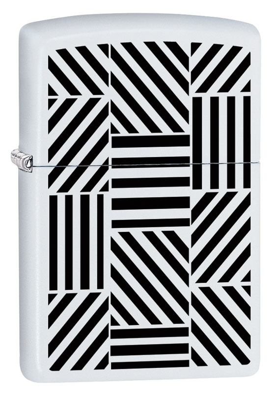 Зажигалка ZIPPO 214 Abstract с покрытием White Matte iarts dx0415 19 abstract white cotton hand painted oil painting white black red