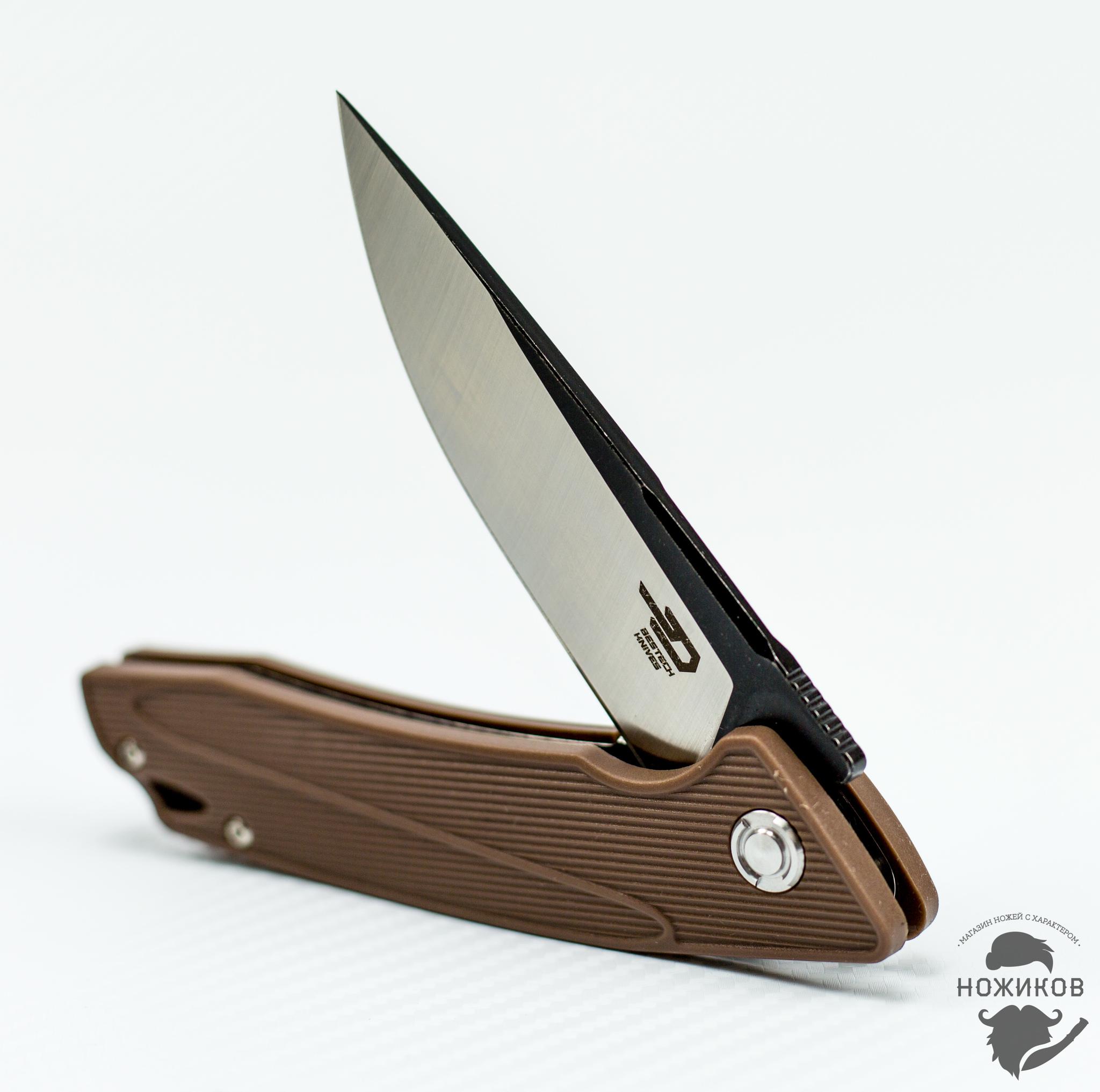 Фото 7 - Складной нож Bestech Spike BG09C-1, сталь Sandvik 12C27 от Bestech Knives